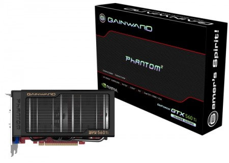 Gainward работает над двумя картами на базе GeForce GTX 560 Ti