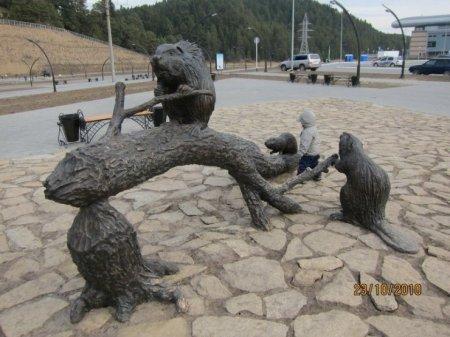 Интересный археопарк в Ханты-Мансийске