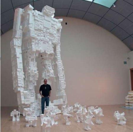Скульптуры из пенопласта