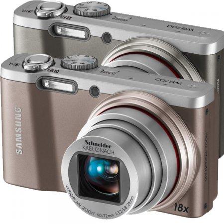 Samsung WB700 - компатный фотоаппарат с 18-кратным зумом