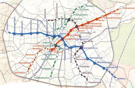 Третью линию минского метро откроют через шесть лет