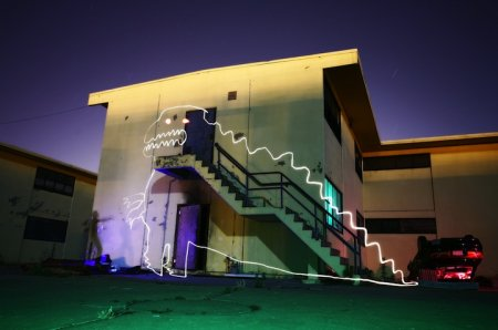 Тайный мир светового граффити