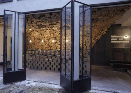 «Коробочный» интерьер парижского бутика Merci от March Studio