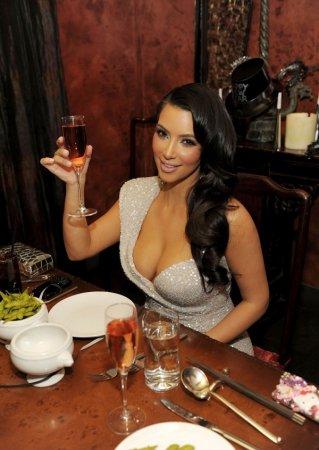 Ким Кардашян встречала 2011-й год в Лас-Вегасе