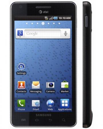 Крупный и быстрый смартфон Samsung Infuse 4G
