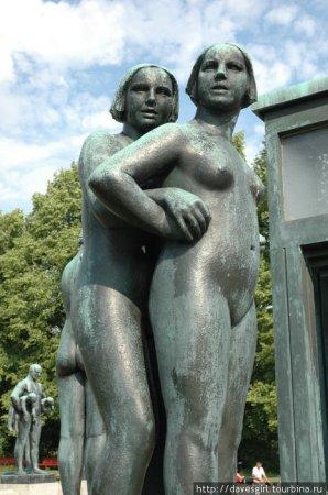 Парк скульптур в Осло