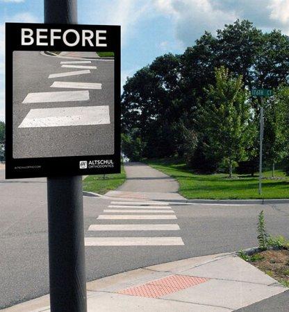 Креативная уличная реклама