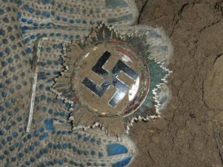 Фото с раскопок времен 2-ой мировой войны