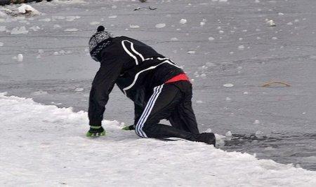 Как проверить прочность льда?