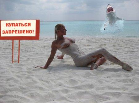 Голая Волочкова повеселила Интернет