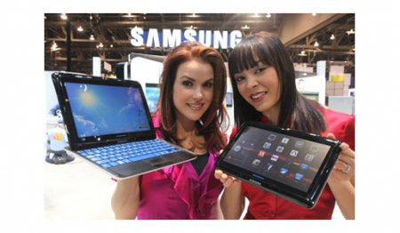 Cлайдер-планшет Sliding PC 7 Series от Samsung