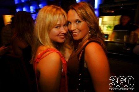 Девушки в шведских клубах