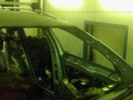 Как восстанавливают убитые машины