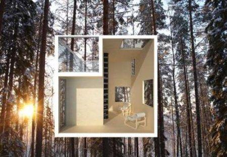 Зеркальный домик