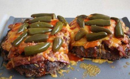 Делаем из пицц гамбургер!