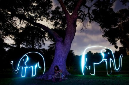 Awesome Light Art By Darren Pearson