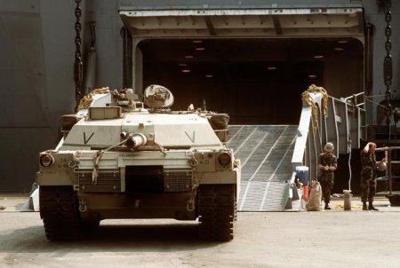 M1 Abrams — основной боевой танк