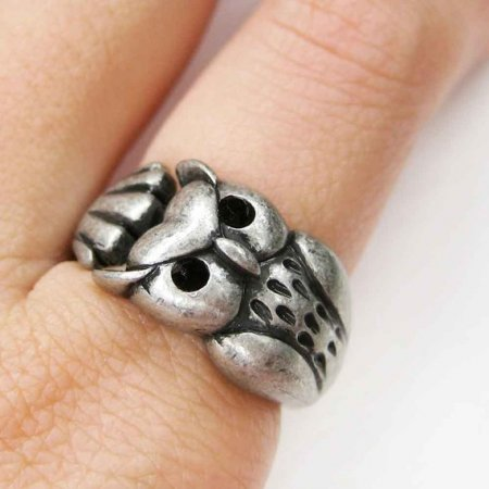 Милые колечки из серебра