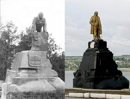 Кукушонок (о памятниках)