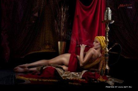 Очень качественное НЮ в исполнении фотографа Hugo Tumanovа