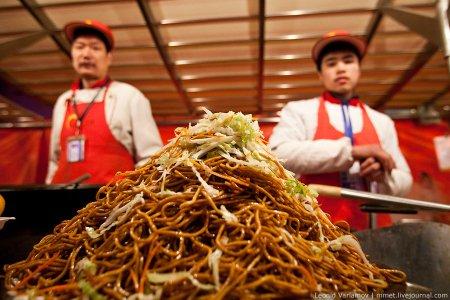 Китайская кухня крупным планом
