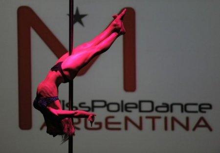 Танцы у шеста Мисс Южная Америка