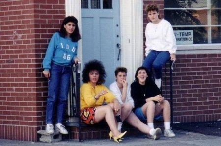 Мода 80-х годов