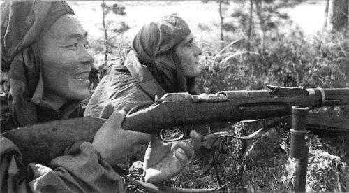 Снайпер Семен Номоконов
