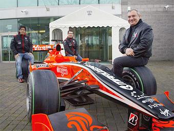 Marussia Virgin будет выступать в Формуле-1 под российским флагом