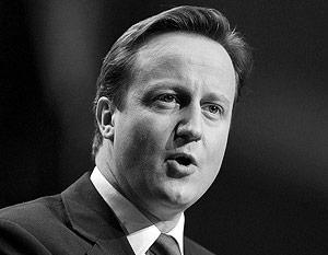 Дэвид Кэмерон, премьер-министр Великобритании