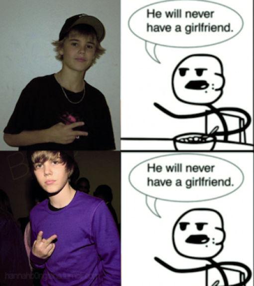 У него никогда не будет подружки!