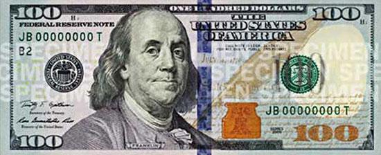 Доллар стал светло-голубым