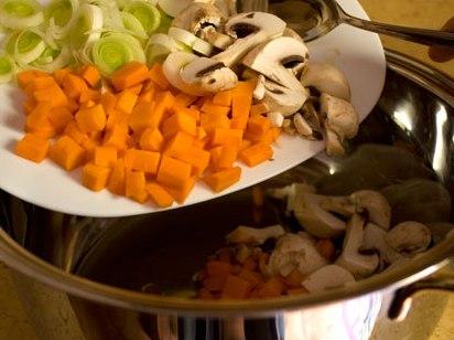 [первые блюда] Вегетарианский бульон