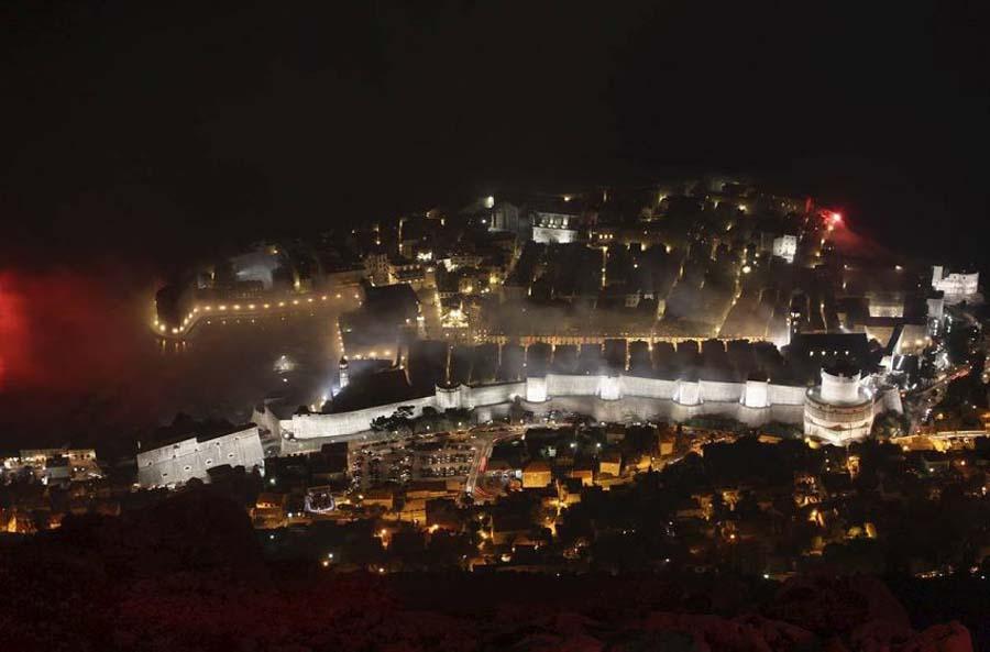 Празднование 100 летнего юбилея Хайдука из Сплита