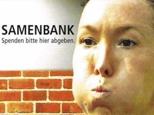 Елена Янкович  в рекламе банка спермы