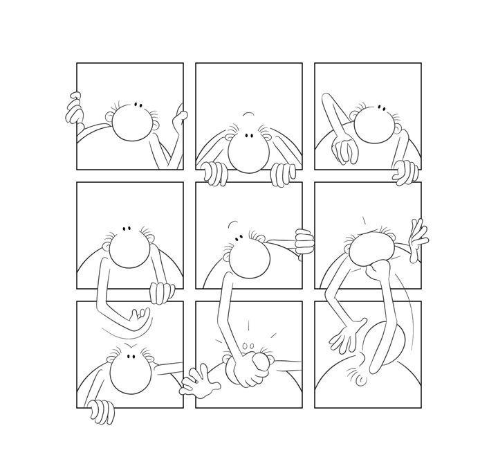 Геометрические комиксы