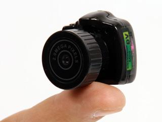 Самая крошечная фотокамера