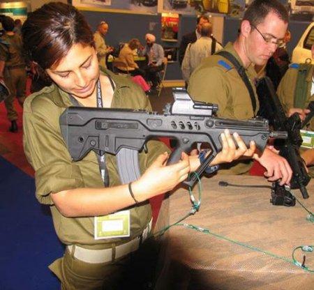 TAR-21 - израильская штурмовая винтовка