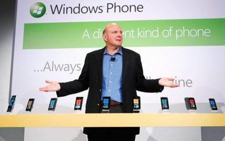Windows Phone 7 смогла занять лишь 2% на рынке США