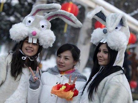 Китай празднует Новый год. Год Кролика будут встречать громко и красочно