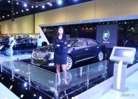 Девушки автошоу Катар-2011