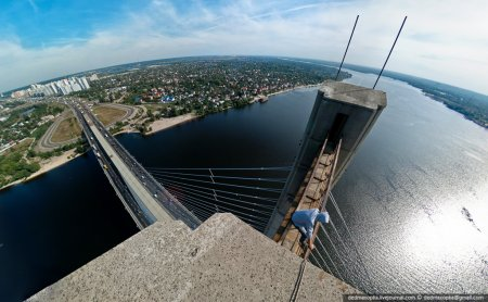 Вид сверху (высота манит)