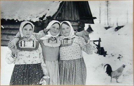 Русские крестьянки