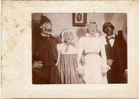 Ретро костюмы на Хэллоуин