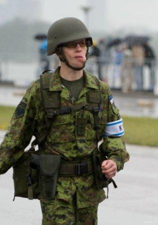 Парад эстонской армии