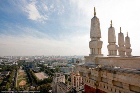 Москва: вид сверху