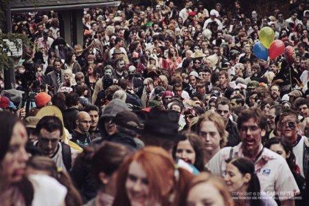 Парад зомби в Торонто