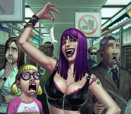 Иллюстрации от Vinicius Menezes