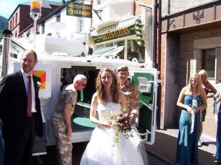 Свадебный танк