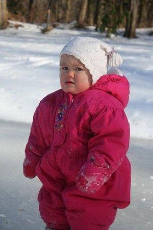 Детишки и снег